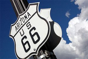 Road 66 arizona