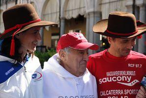 100 km del Passatore (41^ ed.). La Cento del Passatore 2013 su RAI Sport 1, con il commento di Franco Bragagna