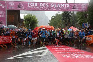 Tor des Géants 2013 (4^ ed.). Pillole di Tor - Day one. La partenza e i primi chilometri