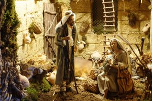 Natività - Presepe 2012 del Maestro Giuseppe Bennardo, Palermo - Foto di Maurizio Crispi