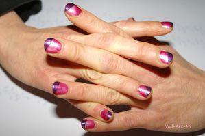 Rose et french biais violette 2