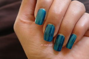 Swatch OPI Yodel me on my cell 2