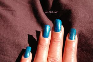 Swatch OPI Yodel me on my cell 3
