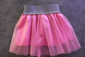 jupe tulle rose