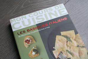 semaine 1 le livre mon cours de cuisine les basiques italiens marabout dans ma cuisine. Black Bedroom Furniture Sets. Home Design Ideas