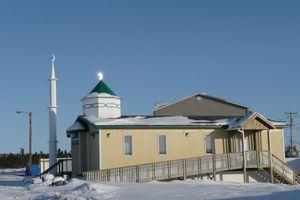 25 La mosquée d'Inuvik
