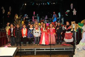 Groupe petits & musiciens