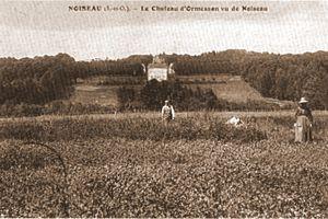 le-ch-teau-d-Ormesson-vu-de-Noiseau-