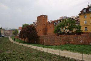 Varsovie pologne-remparts vieille ville-stare miastro1