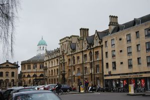 Oxford - Broad Street - The Sheldonian