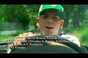 Music video by Tito El Bambino Featuring Beenie Man & Ines performing Flow Natural.