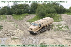 Higuard MRAP mine protected vehicle Renault Trucks Defense