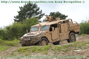 Sherpa Special forces wheeled armoured personnel carrier Re