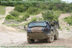 VAB Mark 2 wheeled armoured personnel carrier Renault Truck
