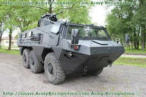 VAB Mark 3 wheeled armoured personnel carrier Renault Truck