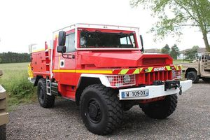 VLRA fire-fighting ACMAT live demonsration 001