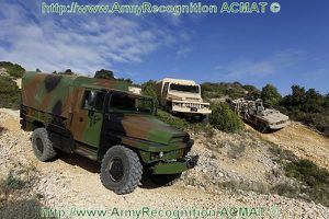 VLRA 2 all terrain multirole wheeled tactical vehicle Acmat