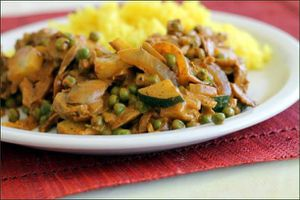 Légumes korma rapide vegecarib928