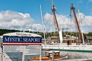 CONNECTICUT Mystic seaport