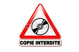 copie photo interdite