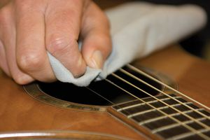 guitare clening