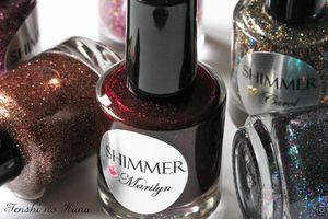 Shimmer polishes 5