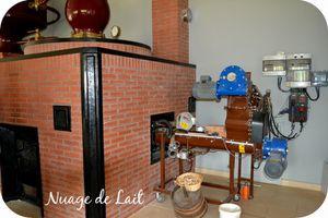 distillerie Huet alambic à bois