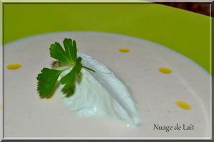 Crème de chou fleur à la vanille