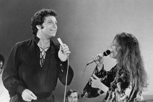 Janis Joplin Tom Jones 1969