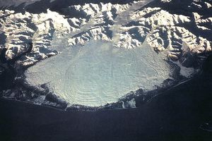 Malaspina Glacier from space