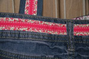 Sac short jean detail 3