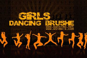 b-dancing girls brushes