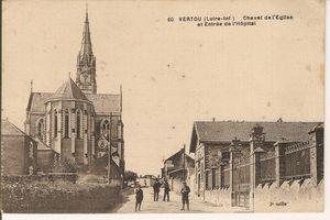 44-Vertou-1918-Entree-Hopital-et-Chevet-de-L-Eglise.jpg