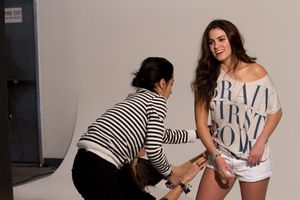 Nikki Reed - H&M Fashion Against AIDS 2