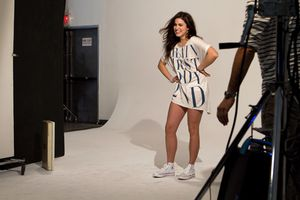 Nikki Reed - H&M Fashion Against AIDS 4