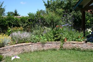 Comment amenager jardin mediterraneen - Comment amenager un petit jardin rectangulaire ...