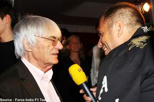Force India - Bernie Ecclestone