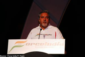 Force India - Vijay Mallya
