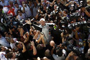 Brawn GP - Rubens Barrichello presse