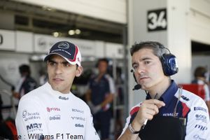 Williams - Pastor Maldonado, Xevi Pujolar