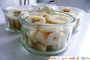 crumble banane-poire chocolat speculoos 2