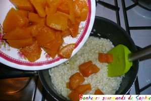 risotto courge butternut 8