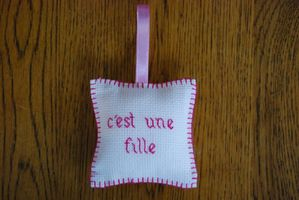 Coussin fille 11