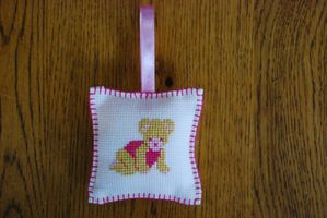 Coussin fille 12