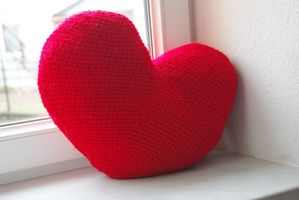 article coussin coeur