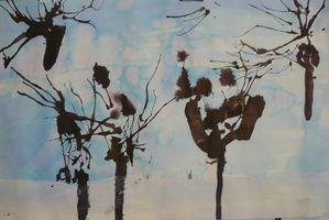 arbres en hiver- lilian