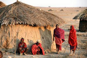 Hutte Masaï