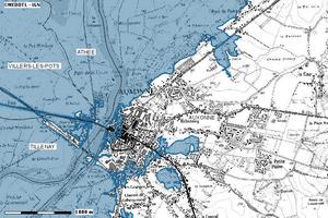Cartographie des risques en Côte-d'Or - Auxonne