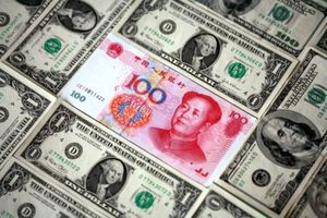 Yuan et dollar