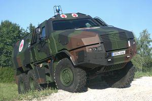 kmw ambulance